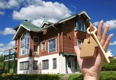 Concepto de compra de la casa Imagenes de archivo