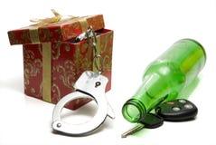 Concepto de conducción borracho imágenes de archivo libres de regalías