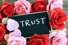 Concepto de confianza Fotografía de archivo libre de regalías