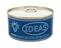 Concepto de creatividad. Lata. Fotos de archivo libres de regalías