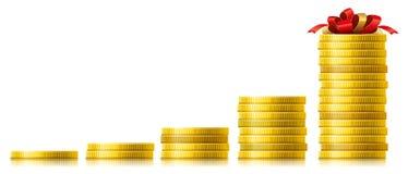 Concepto de crecimiento capital ilustración del vector