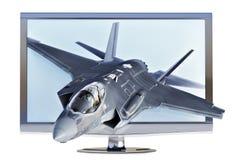 concepto de 3d TV Fotografía de archivo libre de regalías