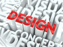Concepto de diseño. Fotos de archivo libres de regalías