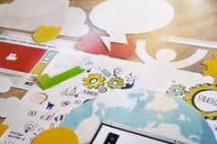 Concepto de diseño Foto de archivo libre de regalías