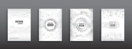 Concepto de diseño de alta tecnología de la cubierta Fotos de archivo libres de regalías