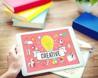 Concepto de diseño creativo de la inspiración del estilo de las ideas imagenes de archivo