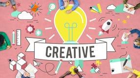 Concepto de diseño creativo de la inspiración del estilo de las ideas fotografía de archivo libre de regalías