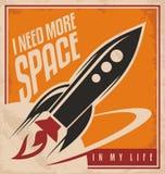 Concepto de diseño creativo del cartel Foto de archivo libre de regalías