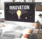Concepto de diseño de la inspiración de Vision del progreso de las ideas imágenes de archivo libres de regalías
