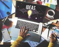 Concepto de diseño de la inspiración de Vision del progreso de las ideas fotos de archivo libres de regalías