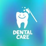 Concepto de diseño del cuidado dental Fotografía de archivo libre de regalías
