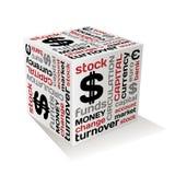 Concepto de diseño del dinero en circulación del vector Imagen de archivo
