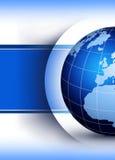 Concepto de diseño del globo del mundo stock de ilustración