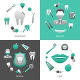 Concepto de diseño dental Foto de archivo
