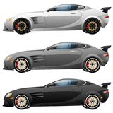 Concepto de diseño estupendo del coche Moderno único ilustración del vector