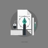 concepto de diseño gráfico Imagen de archivo
