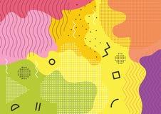 Concepto de diseño de la bandera del patio de los niños ilustración del vector