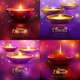 Concepto de diseño de la celebración de Diwali