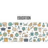 Concepto de diseño de la educación Foto de archivo libre de regalías