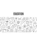 Concepto de diseño de la educación Fotos de archivo libres de regalías