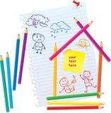 Concepto de diseño para las propiedades inmobiliarias libre illustration
