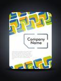 Concepto de diseño creativo de la presentación de la tarjeta del sim. Foto de archivo