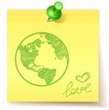 Concepto de Eco Fotografía de archivo libre de regalías