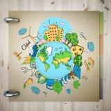 Concepto de Eco Imagen de archivo libre de regalías
