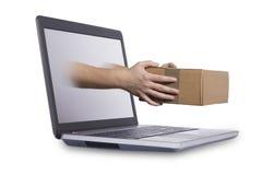 Concepto de envío rápido Fotografía de archivo libre de regalías
