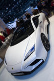 Concepto de Esprit del loto - demostración de motor de Ginebra 2011 Imágenes de archivo libres de regalías
