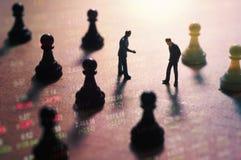 Concepto de estrategia del mercado de acción Imagenes de archivo