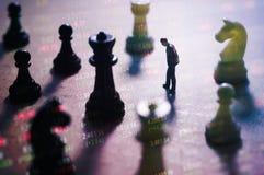 Concepto de estrategia del mercado de acción Fotos de archivo