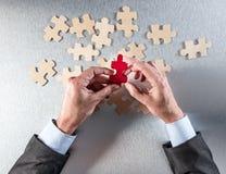 Concepto de estrategia del reclutamiento, de la diferencia o de la cooperación, sobre la visión fotos de archivo