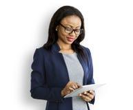Concepto de Executive Professional Entrepreneur de la empresaria Fotos de archivo