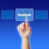 Concepto de Facebook fotos de archivo libres de regalías