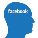 Concepto de Facebook ilustración del vector
