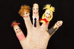 Concepto de familia feliz Fotografía de archivo libre de regalías