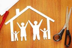 Concepto de familia feliz unida Imagen de archivo libre de regalías