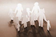 Concepto de familias feliz Fotografía de archivo