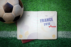 Concepto 2016 de Francia Fotografía de archivo libre de regalías