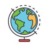 Concepto de Globus Stock de ilustración