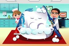Concepto de higiene dental Fotografía de archivo