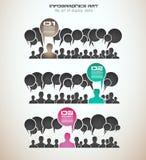 Concepto de Infographics para exhibir sus datos libre illustration