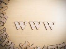 Concepto de Internet del World Wide Web del WWW imagen de archivo libre de regalías