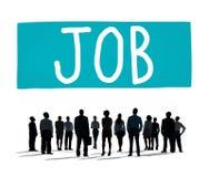 Concepto de Job Employment Career Occupation Goals Fotografía de archivo