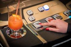 Concepto de juego del casino fotos de archivo