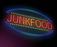 Concepto de Junk Food. Fotos de archivo libres de regalías