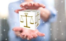 Concepto de justicia imagenes de archivo