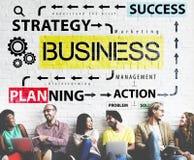 Concepto de la acción del éxito de la estrategia de la planificación de empresas Fotos de archivo libres de regalías