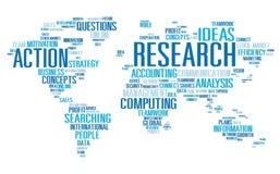 Concepto de la acción del resultado de la respuesta del informe del estudio de la investigación Imagen de archivo